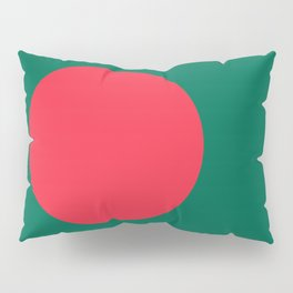 Flag of Bangladesh, High Quality Image Pillow Sham