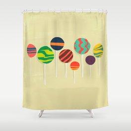 Sweet lollipop Shower Curtain