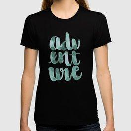 Adventure Green Watercolor T-shirt