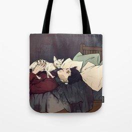 Credence Cat Tote Bag