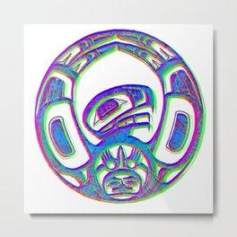 Native American symbol Metal Print