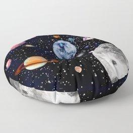 Cosmic world Floor Pillow