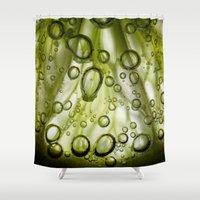 lime Shower Curtains featuring Lime by Ryan Zimmermann