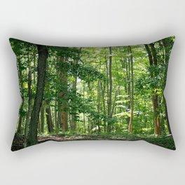 Pine tree woods Rectangular Pillow
