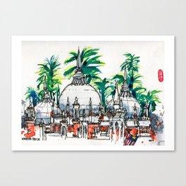 20161022 Masjid Jamek MALAYSIA Canvas Print
