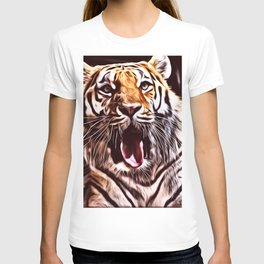 Painted Tiger 9 T-shirt