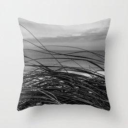 Sea Grass Throw Pillow