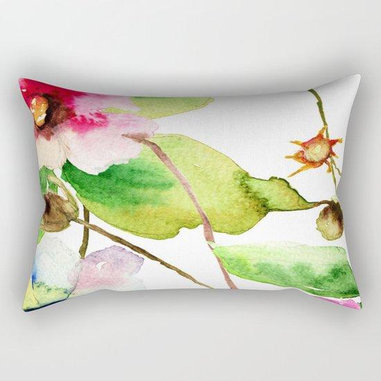 Flowers 03 Rectangular Pillow