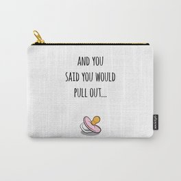 Oops Its a girl, funny pregnancy announcement Carry-All Pouch