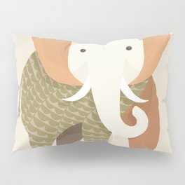 Whimsical Elephant Pillow Sham