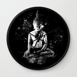 Enlightened Buddha Wall Clock