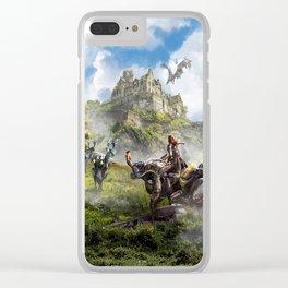 Edinburgh [Horizon Zero Dawn] Clear iPhone Case