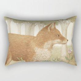 Marco the Fox Rectangular Pillow