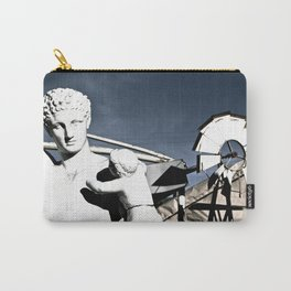 faux Carry-All Pouch