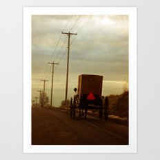 Welcome to Amish Country Art Print