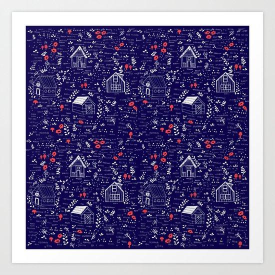 Stuga Pattern  by jenniferreynolds