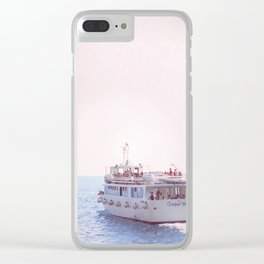 Italian Ferry Clear iPhone Case