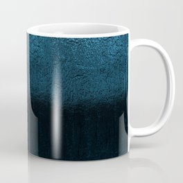 Ice wall texture abstract metal pattern illustration background painting Coffee Mug