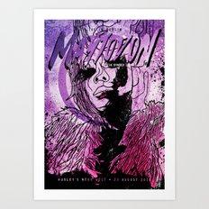 Mastodon Live in Berlin Art Print