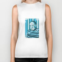 picasso Biker Tanks featuring Picasso by Alex Bardera