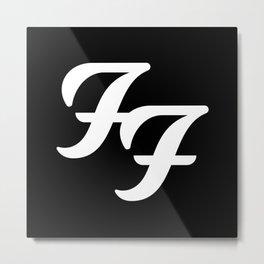 FooFighters Metal Print