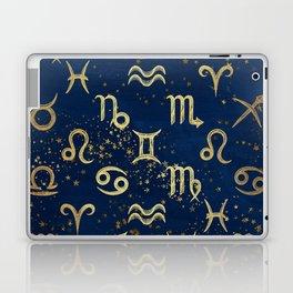 Twelve Zodiac Signs Horoscope Pattern Laptop & iPad Skin