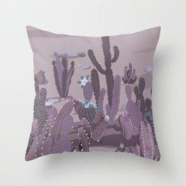 Cactus Variety 9 Throw Pillow