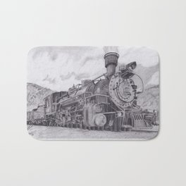 Durango and Silverton Steam Engine Bath Mat