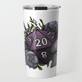 Fighter Class D20 - Tabletop Gaming Dice Travel Mug