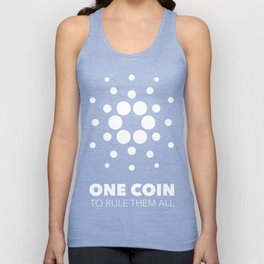 Cardano : one coin to rule them all Unisex Tank Top
