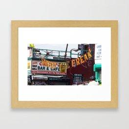 Shoot the Freak Framed Art Print