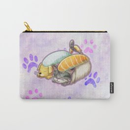 Sleepy Sushi Rolls Carry-All Pouch