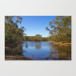 Parawirra Water front Canvas Print