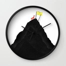 Man & Nature - To The Top Wall Clock