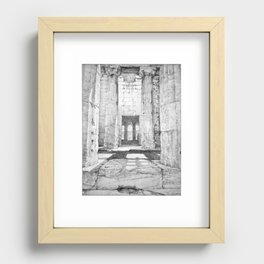 The Temple of Hephaestus in the Agora, Athens, Greece Recessed Framed Print