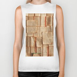 Vintage Novels (Color) Biker Tank
