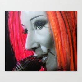'Tori Amos' Canvas Print