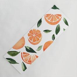 Summer oranges Yoga Mat