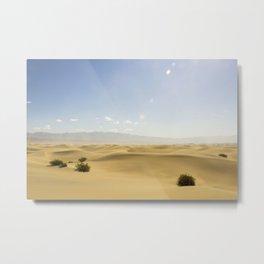 Desert in Death Valley Metal Print