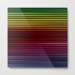 Spectrum colors 2 Metal Print