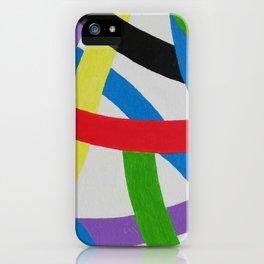 Farbwerk 3 iPhone Case