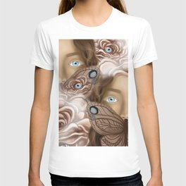 BUTTERFLY FACE T-shirt