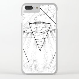 Water Dizziness Clear iPhone Case