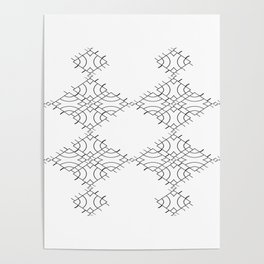 electronic shapes Poster