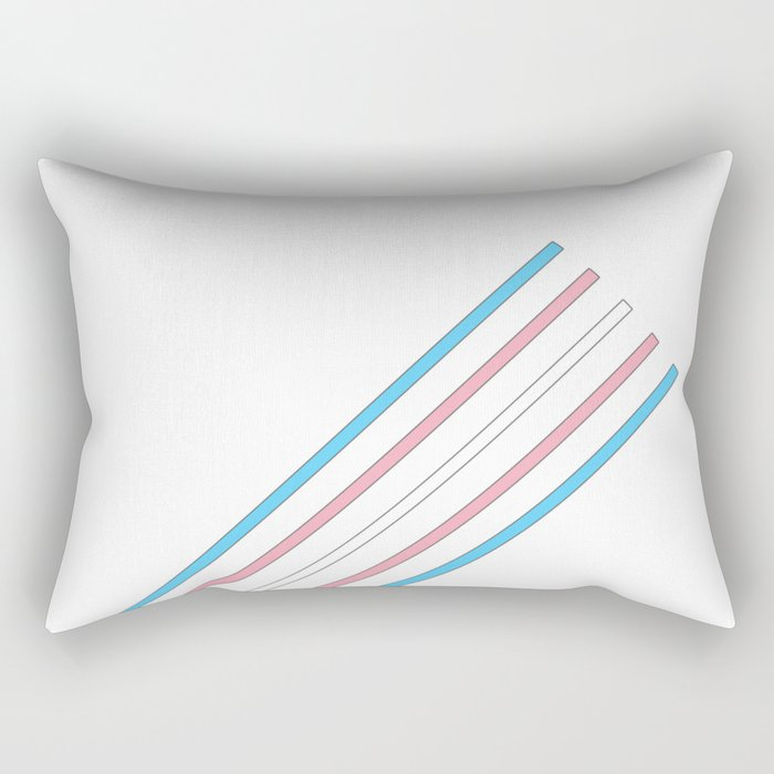 Transcend: On the Rise Rectangular Pillow