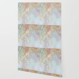 Pastel unicorn marble Wallpaper