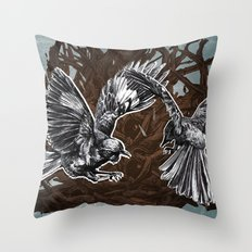 Fight or Flight Throw Pillow