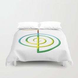 Cho-Ku-Rei - Reiki-Symbol Duvet Cover