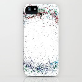 Swirling Of Life 2 iPhone Case