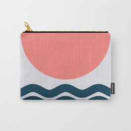 Geometric Form No.9 Carry-All Pouch